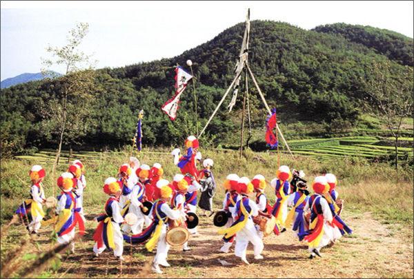 국가무형문화재 제11-마호 임실필봉농악(문화재청 제공)
