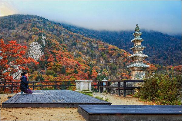 봉정암 진신사리탑