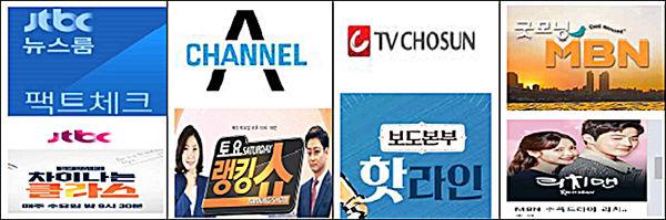 2018년 우리말 으뜸 헤살꾼 JTBC, Channel A, TVChosun, MBN 등 방송사
